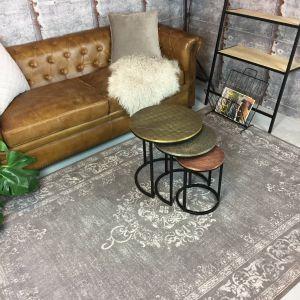 Vintage Vloerkleed Grijs - Dae