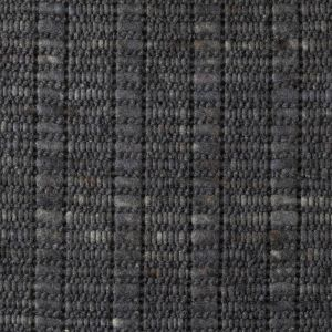 Wollen Vloerkleed Antraciet grijs Argon 034 - Perletta