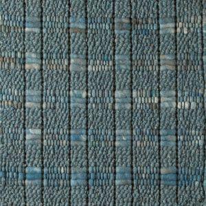 Wollen Vloerkleed Blauw Krypton 132 - Perletta