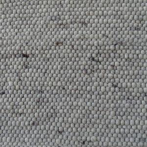 Wollen Vloerkleed Wit Grijs Neon 003 - Perletta