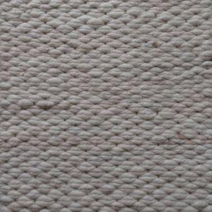 Wollen Vloerkleed Wit Beige Finesse 001 - Perletta