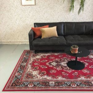 Vintage vloerkleed Nain Perzisch Rood