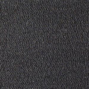 Wollen Vloerkleed Antraciet Blauw Scrolls 034 - Perletta