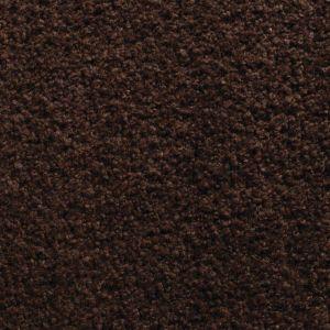 Wollen Vloerkleed Donker Bruin Pixel 168 - Perletta