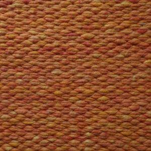 Wollen Vloerkleed Oranje Finesse 022 - Perletta