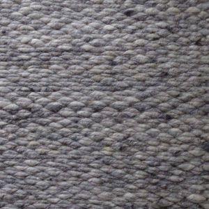 Wollen Vloerkleed Licht Grijs Finesse 033 - Perletta