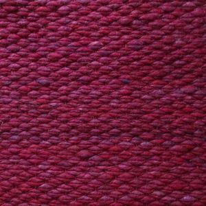 Wollen Vloerkleed Bordeaux Rood Finesse 091 - Perletta