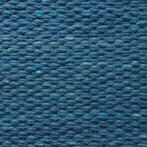 Wollen Vloerkleed Turquoise Blauw Finesse 154 - Perletta