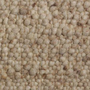Wollen Vloerkleed Beige Pebbles 002 - Perletta