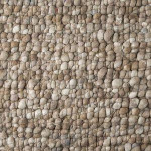 Wollen Vloerkleed Bruin Boulder 048 - Perletta