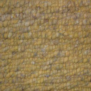 Wollen Vloerkleed Geel Boulder 127 - Perletta