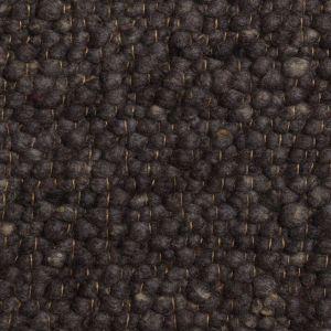 Wollen Vloerkleed Antraciet Blauw Pebbles 034 - Perletta
