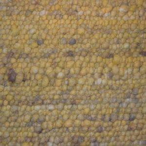 Wollen Vloerkleed Geel Pebbles 127 - Perletta