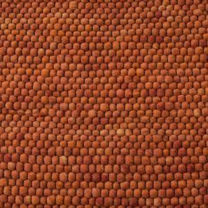 Wollen Vloerkleed Oranje Neon 022 - Perletta