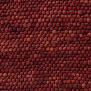 Wollen Vloerkleed Rood Neon 112 - Perletta