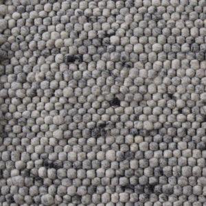 Wollen Vloerkleed Grijs Neon 132 - Perletta