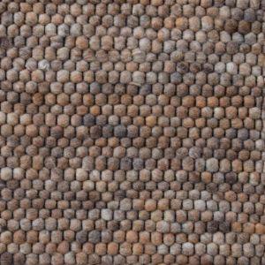 Wollen Vloerkleed Bruin Neon 162 - Perletta