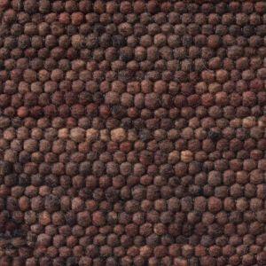 Wollen Vloerkleed Donker Bruin Neon 168 - Perletta