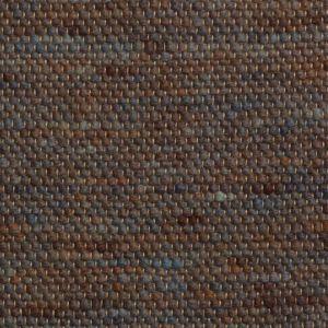 Wollen Vloerkleed Blauw Bruin Bellamy 058 - Perletta