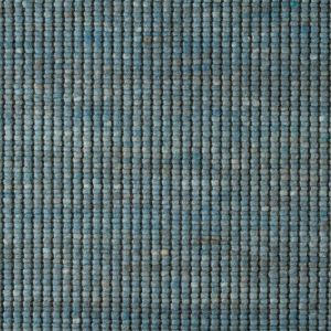 Wollen Vloerkleed Blauw Bitts 153 - Perletta