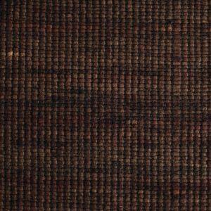 Wollen Vloerkleed Donker Bruin Bitts 168 - Perletta