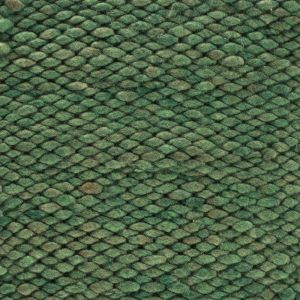 Wollen vloerkleed Groen Limone 147 - Perletta
