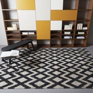 Vloerkleed Geometrics Rombu Beige/Black - Brinker