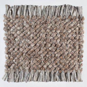 Wollen tapijt Licht Bruin Garno 004 - Perletta