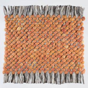 Wollen tapijt Oranje Garno 022 - Perletta