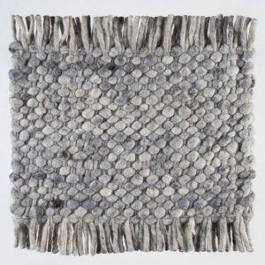 Wollen tapijt Licht Grijs Garno 033 - Perletta