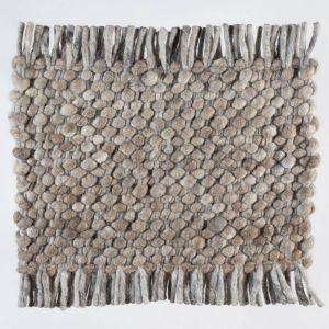Wollen tapijt Bruin Garno 048 - Perletta