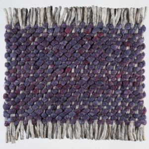 Wollen tapijt Paars Garno 099 - Perletta