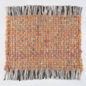 Vloerkleed Wol Oranje Solo 022 – Perletta