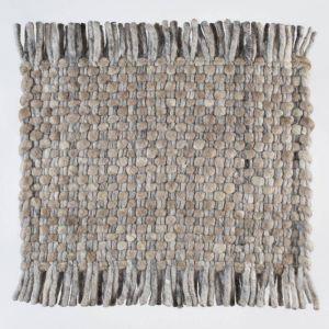 Vloerkleed Wol Bruin Solo 048 – Perletta