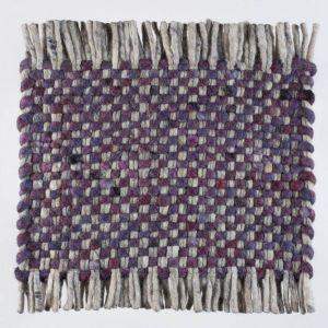 Vloerkleed Wol Paars Solo 099 – Perletta