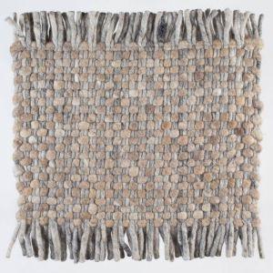Vloerkleed Wol Bruin Solo 162 – Perletta