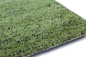 Hoogpolig Wollen Vloerkleed Salsa 106 Groen Multi - Brinker