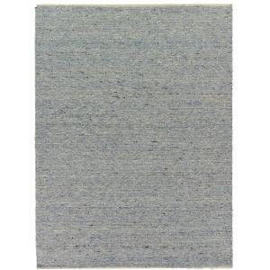 Wollen Vloerkleed Blauw Beige - Eslo