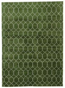 Modern Vloerkleed Groen - Laatz