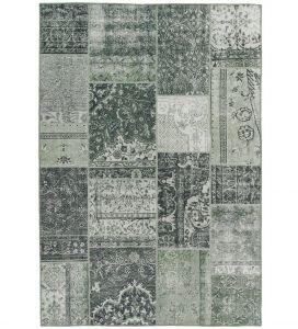 Vintage Patchwork Vloerkleed Groen - Bukan