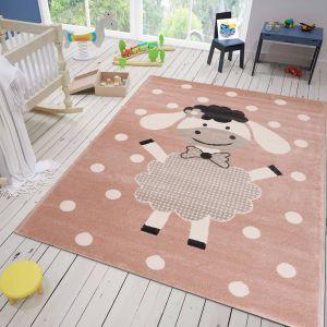 Roze Vloerkleed Kinderkamer - Sara