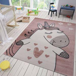 Roze Vloerkleed Kinderkamer - Sofie