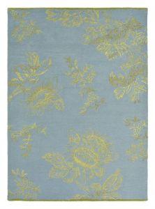 Vloerkleed Blauw Tonquin - Wedgwood