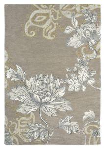 Vloerkleed Grijs Fabled Floral - Wedgwood