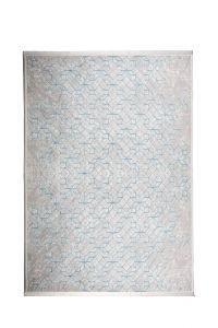 Vloerkleed Yenga Grijs/Blauw - Zuiver