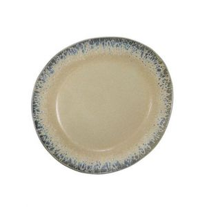 hkliving ceramic 70's side plate: bark