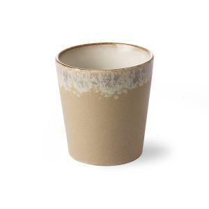 HK Living ceramic 70's mug: bark
