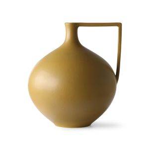 HK Living ceramic jar l mustard