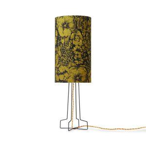 HKliving DORIS voor HKLIVING: bedrukte cilinder lampenkap bloemen