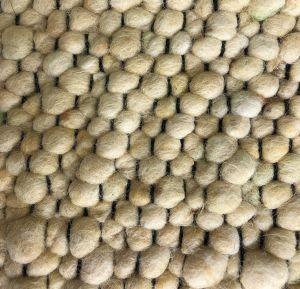 Wollen vloerkleed Bergamo 160 Geel - Interieur05